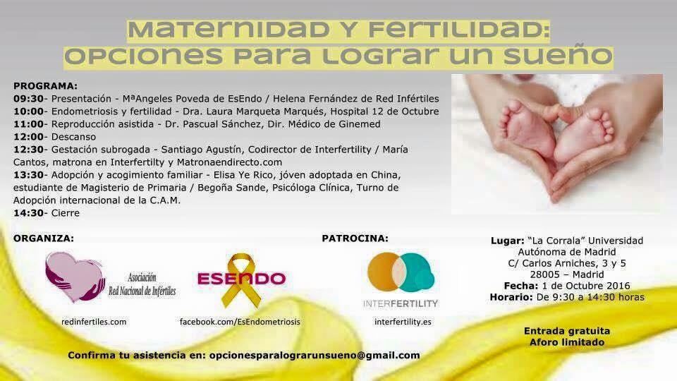 """Encuentro con pacientes: """"Maternidad y fertilidad: opciones para lograr un sueño"""""""