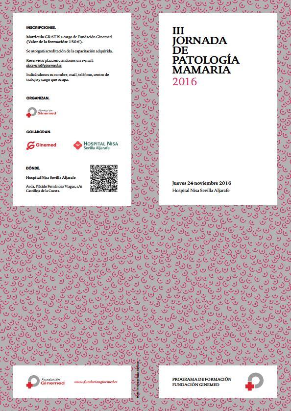 Cartel III Jornada de patología mamaria