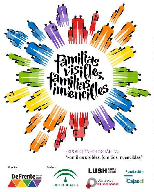 Cartel familias visibles familias invencibles. Ginemed