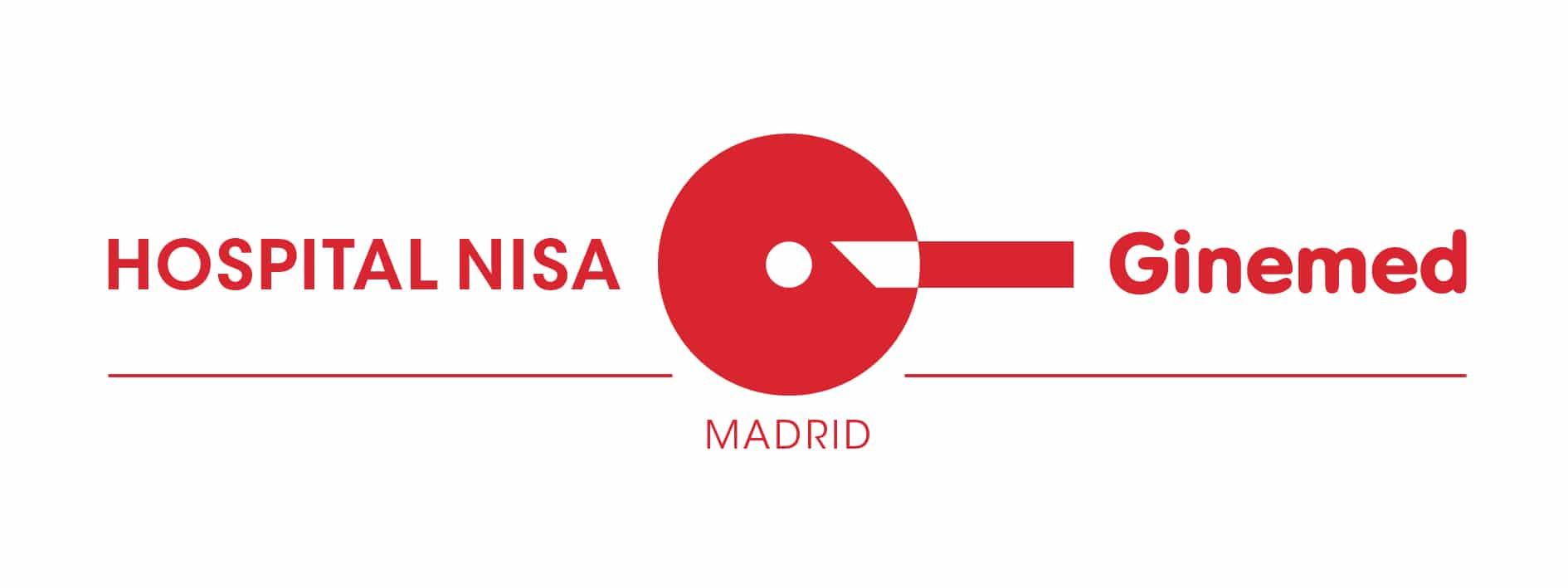 Logotipo Hospital NISA Ginemed Madrid