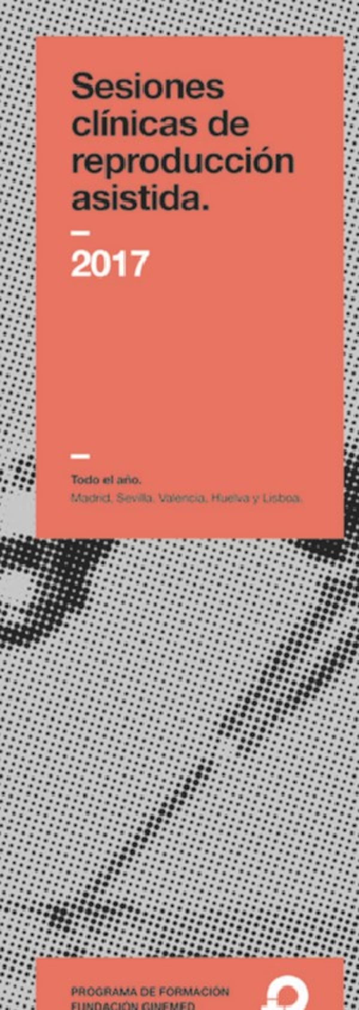 Cartel sesiones clínicas de reproducción asistida