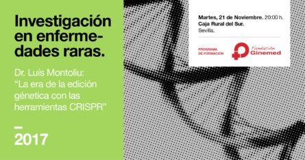 Cartel investigación en enfermedades raras