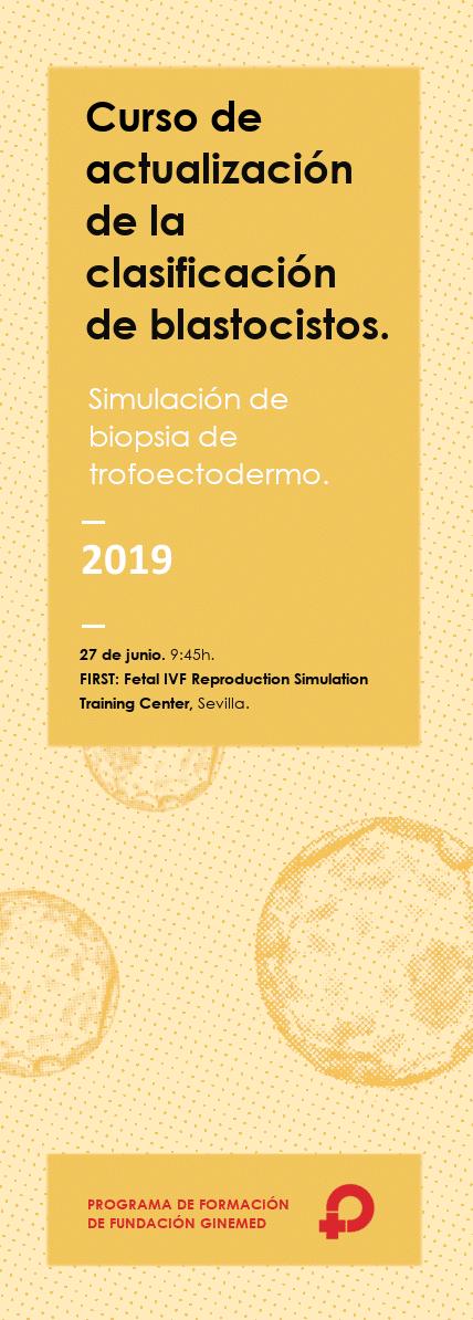 Curso sobre la Actualización de la Clasificación de Blastocistos