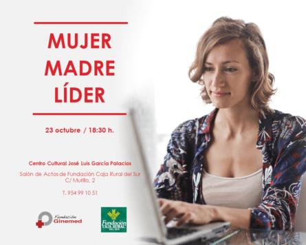 Cartel encuentro mujer madre líder