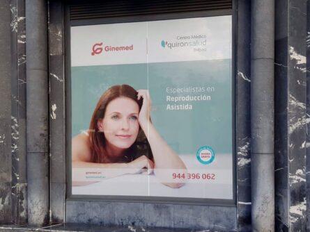 Fachada URA Quirónsalud – Ginemed Bilbao