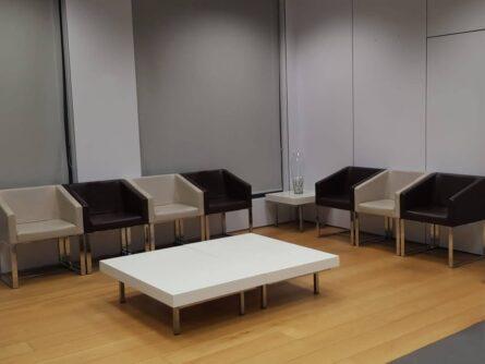 Sala de espera URA Quirónsalud – Ginemed Bilbao