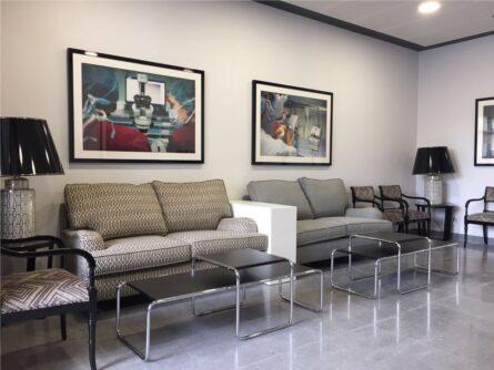 Sala de Espera Hospital UHRA QuirónSalud Huelva - Ginemed Reproducción Asistida