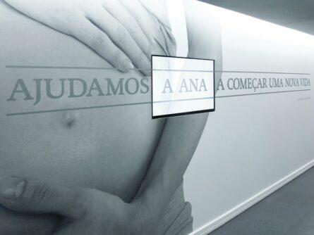 Pasillo clínica de reproducción asistida Ginemed Lisboa