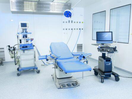 Quirófano clínica de reproducción asistida Ginemed Lisboa