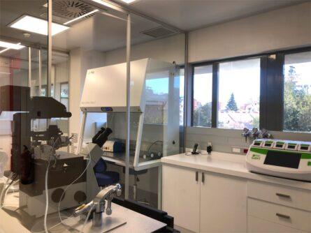 Laboratorio Hospital Madrid Centro - Ginemed Reproducción Asistida
