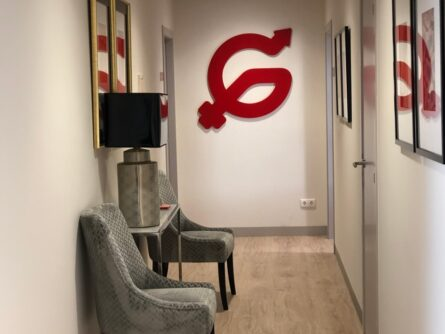 Sala de Espera Hospital Madrid Centro - Ginemed Reproducción Asistida