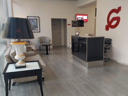 Sala de Espera clínica de reproducción asistida Ginemed San Fernando Cádiz