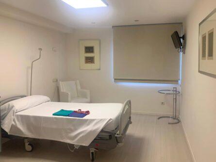 Habitación Hospital Vithas Valencia Consuelo