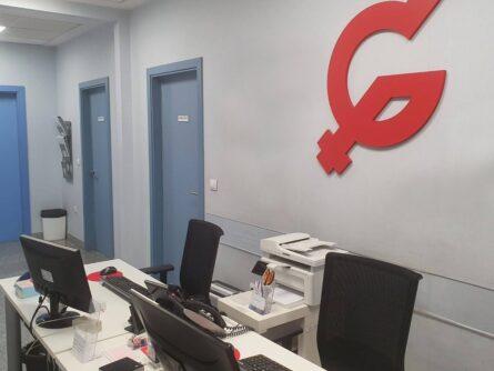 Recepción clínica de reproducción asistida ginemed Sevilla