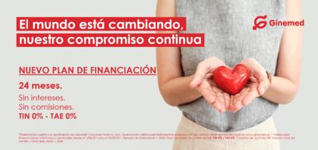 Plan de financiación - Ginemed (24 meses)