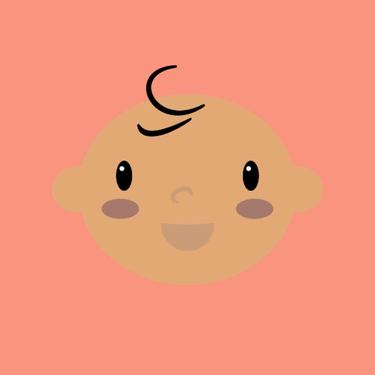 Icono bebé