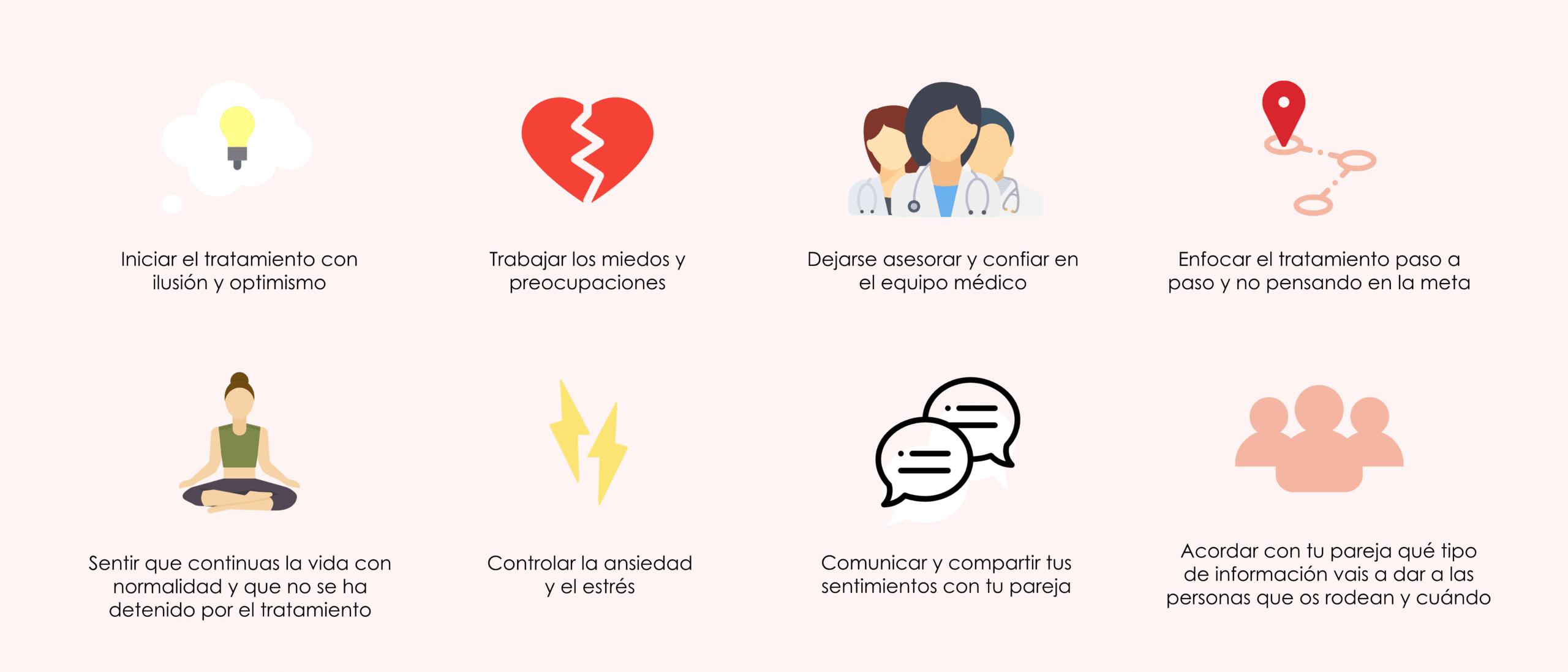 Consejos para que el estado de ánimo no se vea afectado durante el tratamiento de reproducción